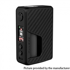 Authentic Vandy Vape Pulse V2 II 95W TC VW BF Squonk Mod 18650/20700/21700 - Black Carbon Fiber