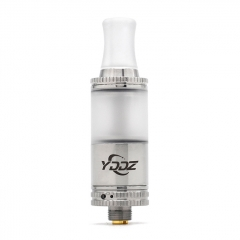 (Ships from Germany)Authentic YDDZ T1 16mm MTL RTA Rebuildable Tank Vape Atomizer 2ml - Silver