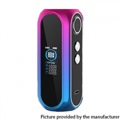 Authentic OBS Cube Pro 80W VW 3000mAh Box Mod - Rainbow