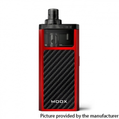 Authentic ZQ MOOX Pod System Vape Starter Kit 3ml - Flame Red