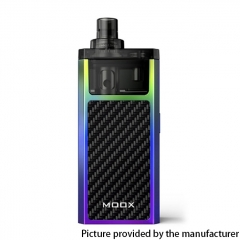 Authentic ZQ MOOX Pod System Vape Starter Kit 3ml - Stylish Rainbow