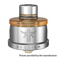 Authentic Vandy Vape Requiem 22mm DL / RDL / MTL RDA - Silver