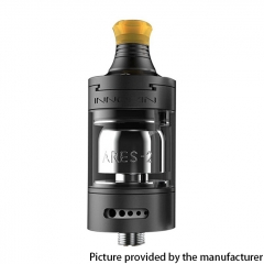 Authentic Innokin Ares 2 D24 MTL RTA Rebuildable Tank Atomizer 4ml - ONYX