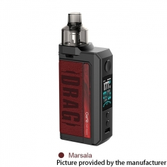 Authentic Voopoo Drag Max 177W 18650 VW Pod Kit 4.5ml - Marsala