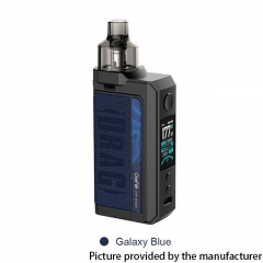 Authentic Voopoo Drag Max 177W 18650 VW Pod Kit 4.5ml - Galaxy Blue