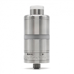 (Ships from Germany)ULTON Haar Style 22mm RTA 4ml - Silver