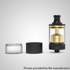 Authentic Gas Mods Pallas MTL 22mm RTA - Black