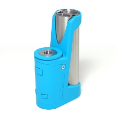 SXK Insider DB Killer Style 70W TC VW Variable Wattage Stealth Vape Box Mod 18650 - Blue