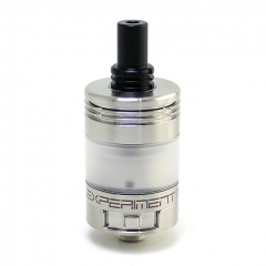 SXK Experiment 3 MTL 22mm 316SS RTA 2.5ml - Silver