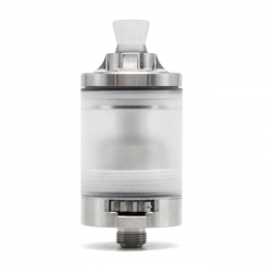 (Ships from Germany)YFTK Roulette Style MTL / DL 22mm RTA Rebuildable Tank Vape Atomizer 3.5ml - Silver