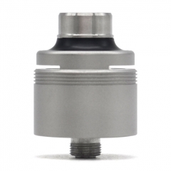 (Ships from Germany)SXK 5A's Basic V2 316SS Style RDA Rebuildable Dripping Vape Atomizer w/ BF Pin & 4.0 x 2.0mm Airflow Insert - Silver