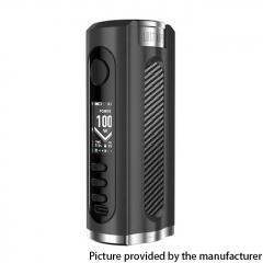 (Ships from Germany)Authentic Lost Vape Grus 100W TC Box Mod 18650/20700/21700 - Black / Carbon Fiber