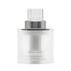 Replacement Tank + Chimney + 510 Drip Tip for Fev Flash e-Vapor V4.5S Style RTA Tank 3.5ml - Translucent