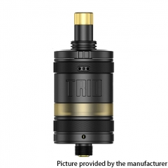 Authentic ZQ Trio 22.8mm MTL / DL RTA 2ml - Black