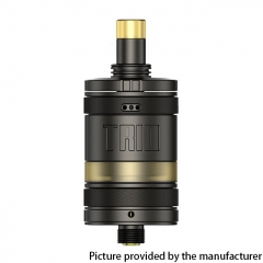 Authentic ZQ Trio 22.8mm MTL / DL RTA 2ml - Gun Metal