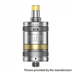 Authentic ZQ Trio 22.8mm MTL / DL RTA 2ml - Silver
