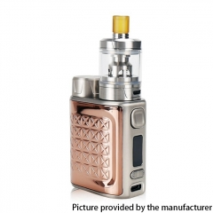 Authentic Eleaf iStick Pico 2 75W VW 18650 Box Mod + GZeno S Tank  Kit - Rose Gold