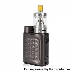 Authentic Eleaf iStick Pico 2 75W VW 18650 Box Mod + GZeno S Tank  Kit - Matte Gun Metal