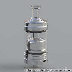 Authentic Auguse V2 MTL / DTL 22mm RTA 3ml - Silver