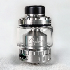 Authentic Gas Mods Cyber 24mm RTA - Silver