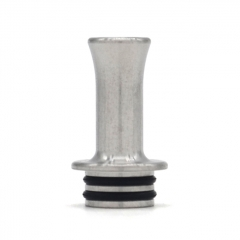 Vazzling Replacement 510 Drip Tip for Typhoon GTR 20.5mm - Silver
