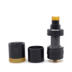 YFTK KF Prime Nite 22mm 316SS DLC RTA 2ml (No Logo) - Black