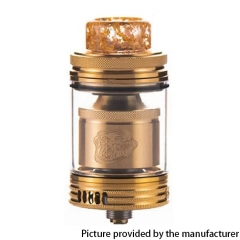 Authentic Wotofo The Troll X 24mm RTA 3.0ml / 4.4ml - Gold