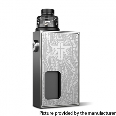 Authentic Vandy Vape Requiem BF 18650 Mechanical Box Mod Kit 6ml - Craftsman (Silver)