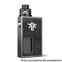 Authentic Vandy Vape Requiem BF 18650 Mechanical Box Mod Kit 6ml - Ghost Samurai