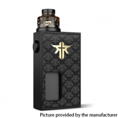 Authentic Vandy Vape Requiem BF 18650 Mechanical Box Mod Kit 6ml - Shadow King