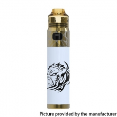 Authentic Oumier Wasp Nano Stick 2000mAh Pod Mod + Wasp Nano 22mm RDA Kit - Gold