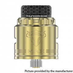Authentic ThunderHead Creations THC Tauren MAX 25mm RDA w/BF Pin - Brass Black