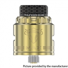Authentic ThunderHead Creations THC Tauren MAX 25mm RDA w/BF Pin - Brass