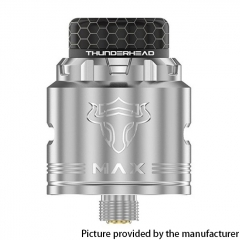 Authentic ThunderHead Creations THC Tauren MAX 25mm RDA w/BF Pin - SS