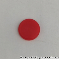 Replacement POM Button for DOTAIO Mod 1pc - Red