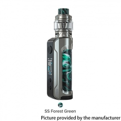 Authentic OBS Engine 100W 18650/20700/21700 VW Mod + Engine S Tank 6ml Kit - SS Forest Green